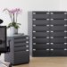 Metal filing boxes